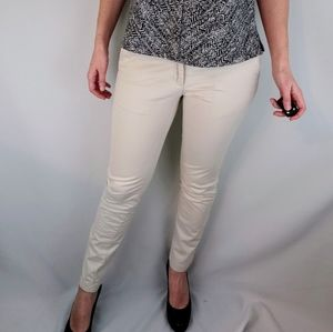 Banana Republic Cream Pants Size 0